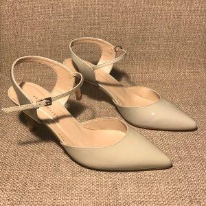 Karen Millen Pale Green Pointy Toe Heel